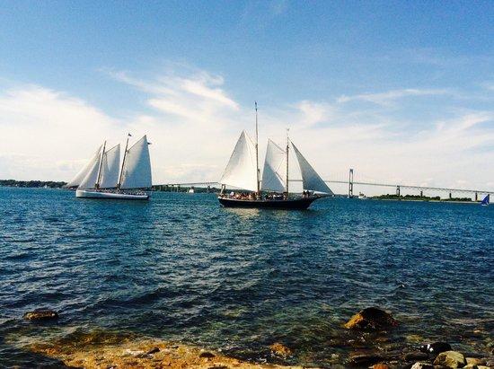 Ocean Drive: Sailboats