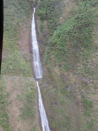 Blue Hawaiian Helicopters - Waikoloa: One waterfall