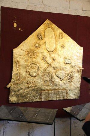 Convento de Santo Domingo: Gold Inca Astronomical Map at Temple of The Sun