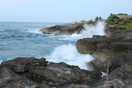 "Occidental at Xcaret Destination: The ""real"" coastline"