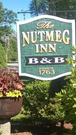 Nutmeg Inn: The place to be!