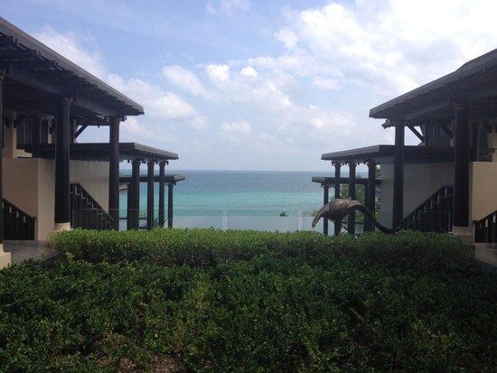 Vana Belle, A Luxury Collection Resort, Koh Samui: Lobby Entrance
