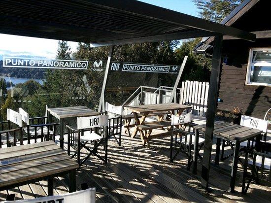 Punto Panorámico (Mirador & Bar): Área aberta
