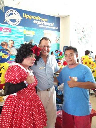 Dolphin Discovery Puerto Aventuras: Cia.Payasos Este-llados cancun, en el 2º congresos de payasos playa del carmen