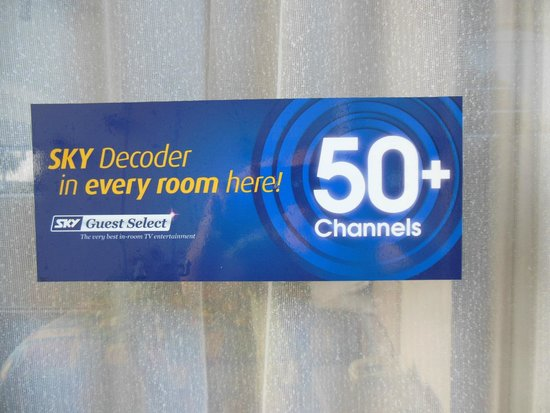 ASURE Camelot Arms Motor Lodge: 50+ Sky Tv channels