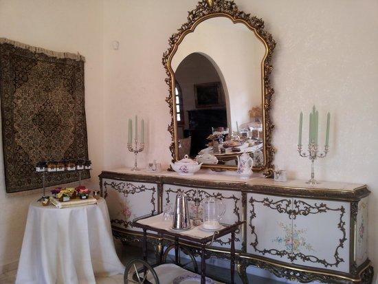 Villa Diana: The breakfast rrom