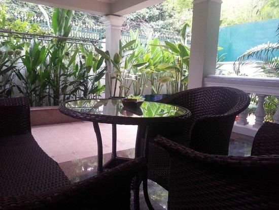 The Pavilion : Executive suite outdoor area