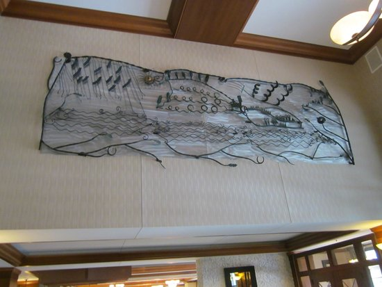 Radisson on John Deere Commons: Lobby art