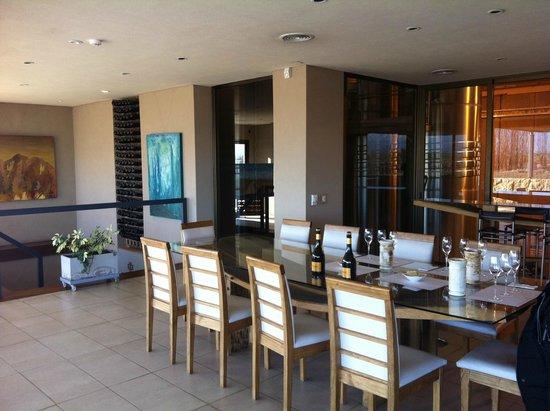 Bodega Cruzat: Sala de degustação