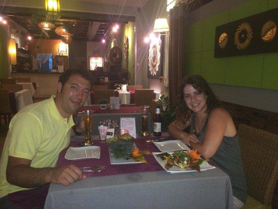 Bussaba Thai Restaurant : Lo mejor por supuesto fue la comida, pero la calidad del servicio estuvo a la altura.