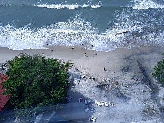 Wyndham Playa Corona: Playa al frente del hotel