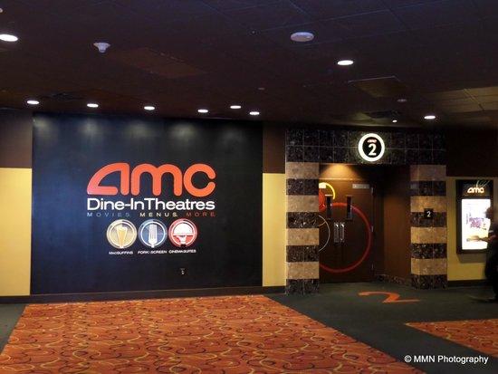 AMC Dine-In Theatres Menlo Park 12: Movie Suite Entrance