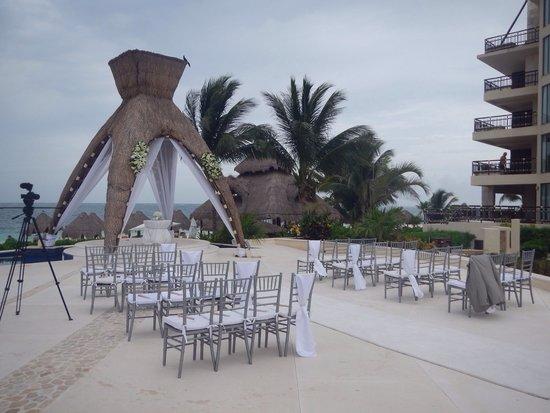Dreams Riviera Cancun Resort & Spa : Gazebo wedding