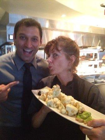 Etch Restaurant: Brandon and Chef Deb