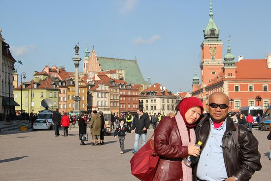 Old Town: Royal Palace and Sigismund's monument