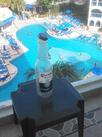 Occidental Costa Cancun: balcony