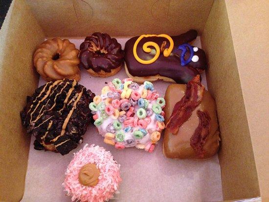 Voodoo Doughnut: My favourite was the fruit loop