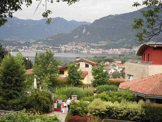 Lago d'Iseo: a great view from Pistoia