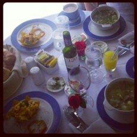 Casa Dann Carlton Hotel & SPA: Desayuno a la habitación