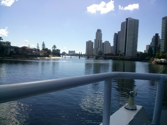 Surfers Paradise River Cruises: top deck views