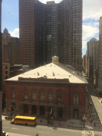 Doubletree by Hilton Philadelphia Center City: Great views of the Arts District
