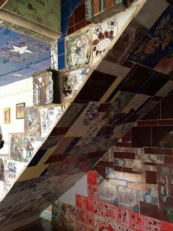 Fusterlandia : stairs