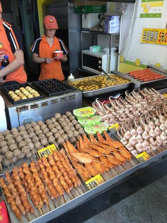 Beijing Road Shopping District : Street food