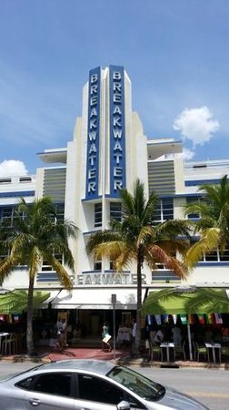 The Official Art Deco Walking Tour by the Miami Design Preservation League: The Breakwater on Miami's South Beach