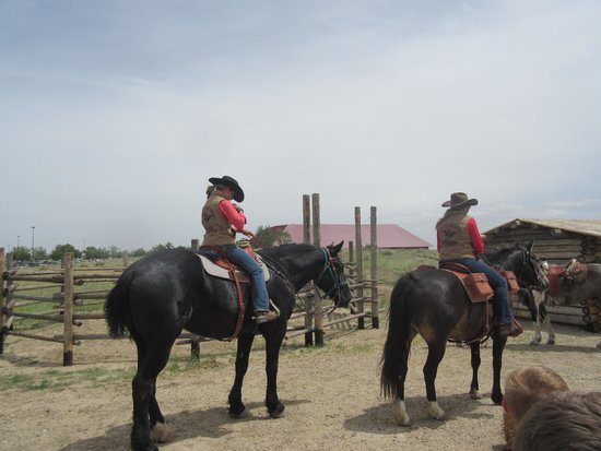 National Historic Trails Interpretive Center: Annual Pony Express Ride - Stop at Trails Center