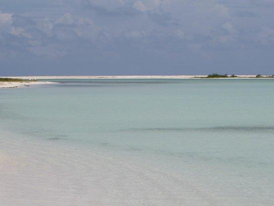Playa Paraiso: laguna paraiso