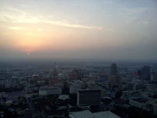 Sunset view from Tower of the Americas