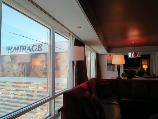 The Mirage Hotel & Casino: our suite