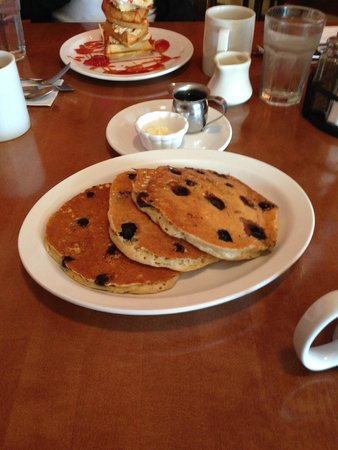 The Biscuit: blueberry pancakes