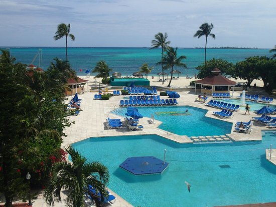 Breezes Resort & Spa Bahamas: From the business center balcony