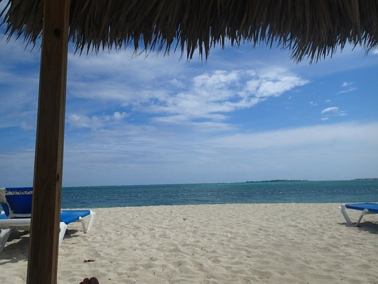 Breezes Resort & Spa Bahamas: From the cabana on the beach