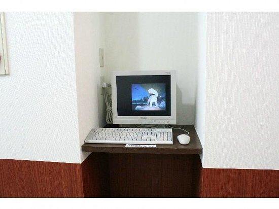 Town Hotel Fukui: インターネットコーナー