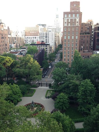 Gramercy Park Hotel: view from the room