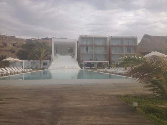 Mancora Marina Hotel : Vista general