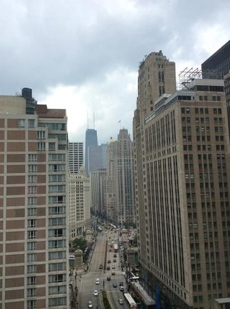Hard Rock Hotel Chicago : view from my room