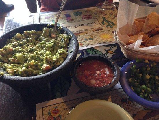 Fresh Agave: Table-side guacamole