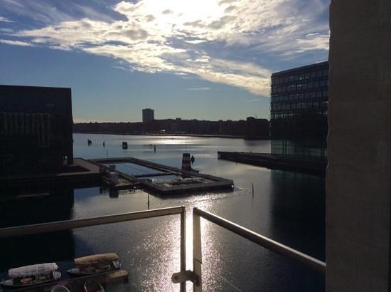 Copenhagen Island Hotel: Balcony view from my room