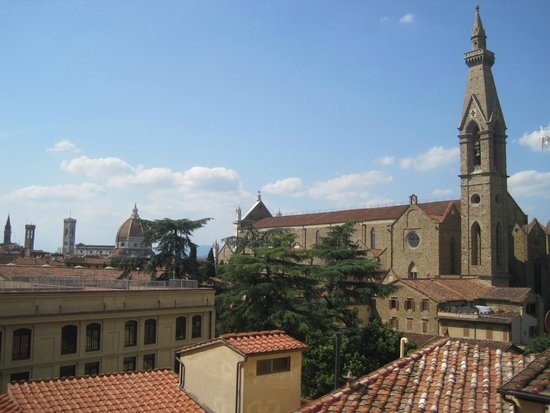 Plaza Lucchesi Hotel: View