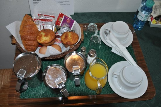 Breakfast on tray - Picture of Soggiorno Battistero, Florence ...