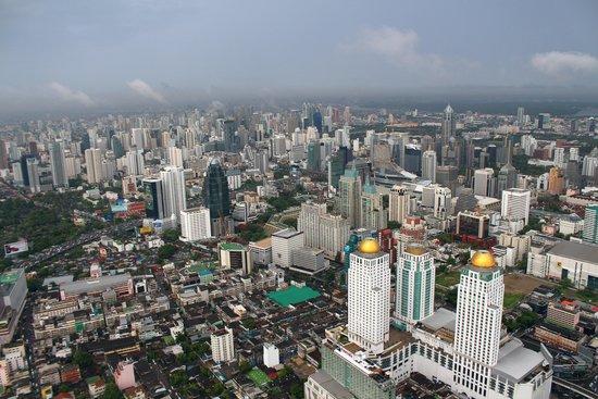 Baiyoke Sky Tower: Вид со смотровой