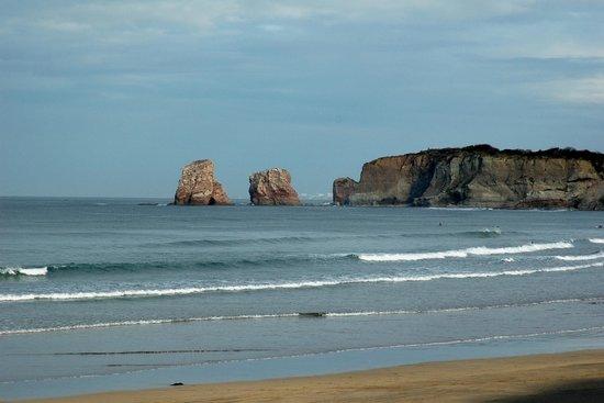Plage d'Hendaye : spiaggia