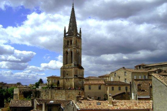 Eglise Monolithe de Saint-Emilion : campanile