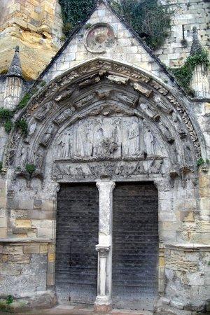 Eglise Monolithe de Saint-Emilion : porta