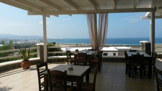 Hotel Kavuras Village: Vista dal Ristorante