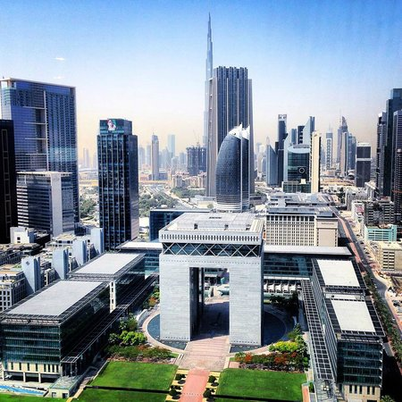 Jumeirah Emirates Towers : Spectacular view from our room
