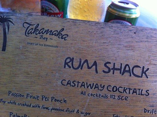 Anse Intendance: Rum Shack